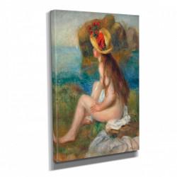 Poster, Fată dezgolită