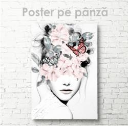 Poster, Fluturi și flori