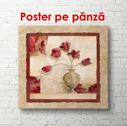 Poster, Maci roșii într-o vază