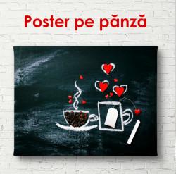 Poster, Pauza de ceai și cafea