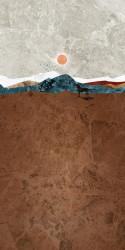 Poster, Peisajul din deșert