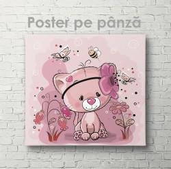 Poster, Pisicuța roz
