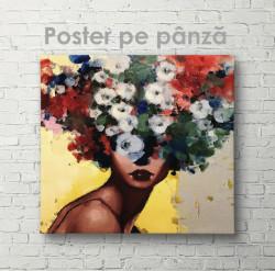 Poster, Portertul unei fete tinere