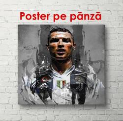 Poster, Portretul lui Cristiano Ronaldo