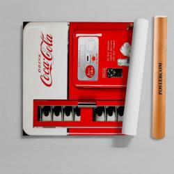 Stickere 3D pentru uși, CocaCola, 1 foaie de 80 x 200 cm