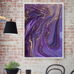 Tablou, Arta fluidă purpurie