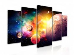 Tablou modular, Planete în spațiul cosmic