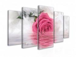 Tablou modular, Trandafirul gingaș