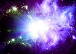 Fototapet Astronomie, Culori deschise în cosmos