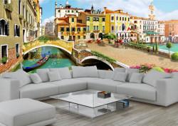 Fototapet, O curte frumoasă din Veneția