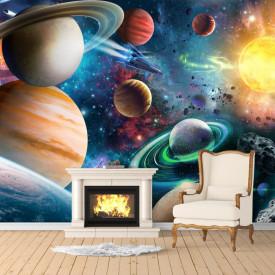 Fototapet, Planete frumoase în spațiu
