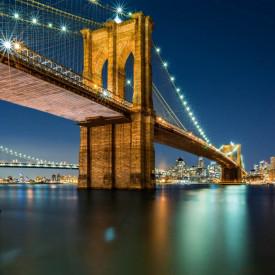 Fototapet, Podul strălucitor