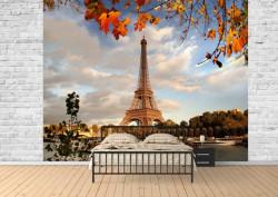 Fototapet, Toamna la Paris