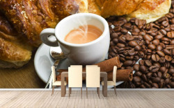 Fototapete Alimente și băuturi, Ceașca cu cafea