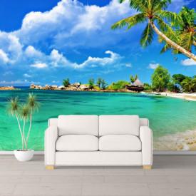 Fototapete, Marea și cerul înorat