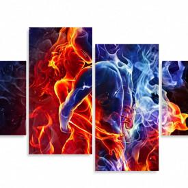 Multicanvas, Îmbrățișarea de foc.