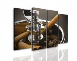 Multicanvas, O mașină de tocat cafea