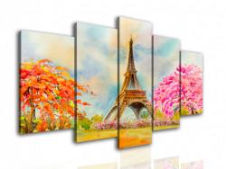 Multicanvas, Parisul în culori.