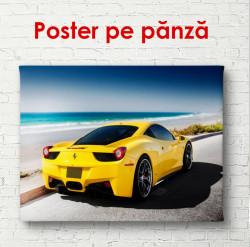 Poster, Ferrari Galben
