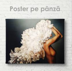 Poster, Gâță din flori