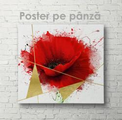 Poster, Mac roșu