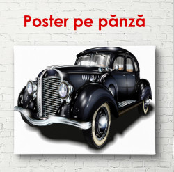 Poster, Retro Ford