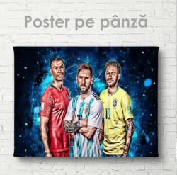 Poster, Trei legende