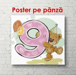 Poster, Ursul cu numărul 9