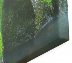 Tablou modular, Cascada în pădure.