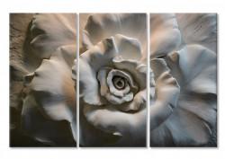 Tablou modular, Floare 3D.