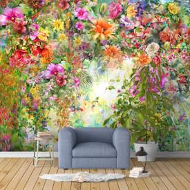 Fototapet, Flori strălucitoare