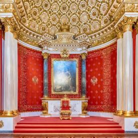 Fototapet, O încăpere în stil clasic cu coloane
