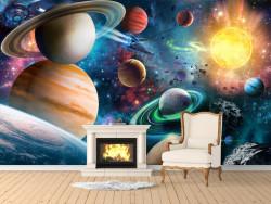 Fototapete, Planete frumoase în spațiu