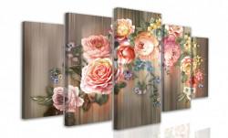 Multicanvas, Buchet de flori