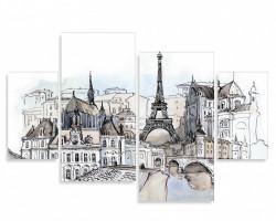 Multicanvas, Parisul pictat în culori