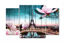 Multicanvas, Romantic Paris