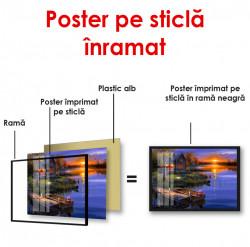 Poster, Lacul seara
