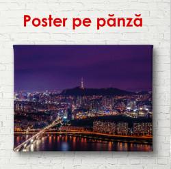 Poster, Luminile de noapte din Seul