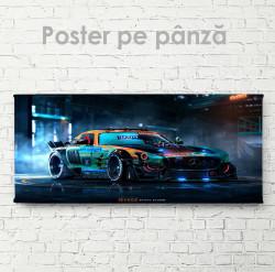Poster, Mercedes Art