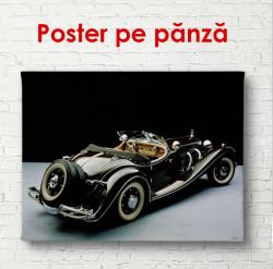 Poster, Mercedes retro
