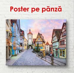Poster, Orașul de poveste la apus