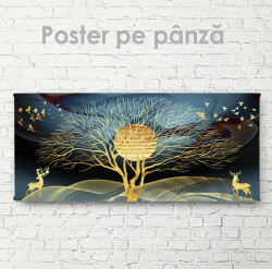 Poster, Peisaj glamour