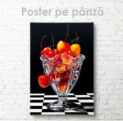 Poster, Salată de fructe