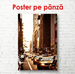 Poster, Trafic auto în oraș