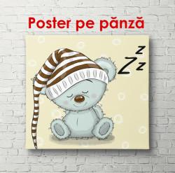 Poster, Ursulețul de culoare albastră
