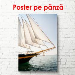 Poster, Yachtul cu pânze albe