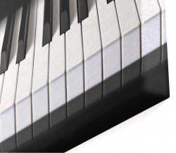 Tablou modular, Clapele pianului