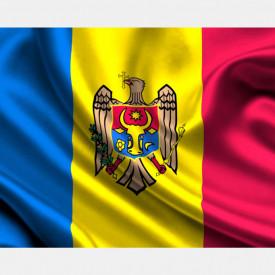 Fototapet, Drapelul Republicii Moldova