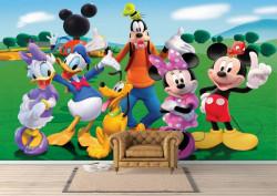 Fototapet, Prietenii lui Mickey Mouse
