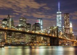 Fototapet, Zgârie nori din New York